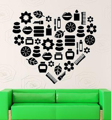 Wall Sticker Vinyl Decal Beauty Salon Spa Relax Fashion for Girls (ig1879)