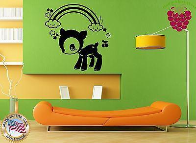 Wall Stickers Vinyl Decal Nursery Animals Baby Lamb Children Unique Gift ig943