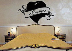 Emma Personalized Name Lettering Custom Wall Art Decor Vinyl Sticker Unique Gift z996