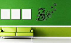 Wall Stickers Vinyl Decal Zebra Nursery Animal Baby For Kids Unique Gift ig1590