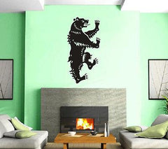 Heraldy Blazons Middle Ages Bear Mural Wall Art Decor Vinyl Sticker Unique Gift z294