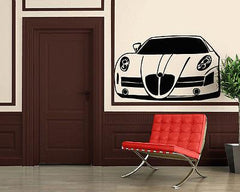 Sport Race Speed Car Motor Vehicle Mural Wall Art Decor Vinyl Sticker Unique Gift (z869)
