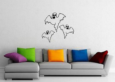 Wall Stickers Vinyl Decal Ghosts Halloween Horror Evil Power Unique Gift ig1646