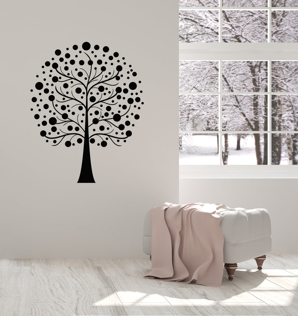Vinyl Wall Decal Abstract Tree Branches Living Room Home Interior ...