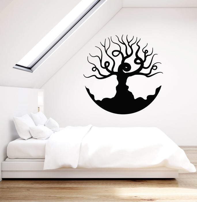 Vinyl Wall Decal Beautiful Bare Tree Branches Living Room Bedroom Art  Stickers Mural (ig5249)