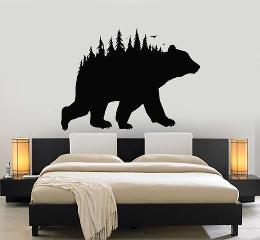 g2707 Vinyl Wall Decal Phrase Forest Trees Nature Wild Fox Arrow Stickers