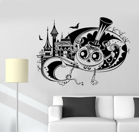 Wall Vinyl Sticker Decal Tale Fantasy Funny Monster Halloween Castle Unique Gift (ed469)