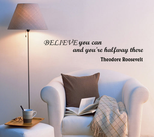 Wall Decal Famous Quotes Phrase Motivation Words Vinyl Sticker (ed844) (22.5 in X 5 in)