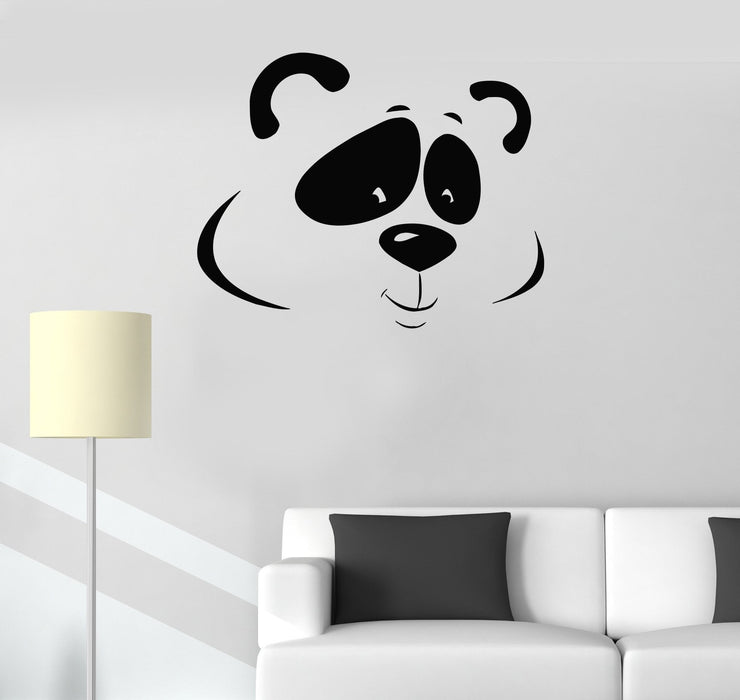 Vinyl Decal Cute Panda Animal Zoo Kids Baby Room Wall Stickers Unique Gift (ig108)