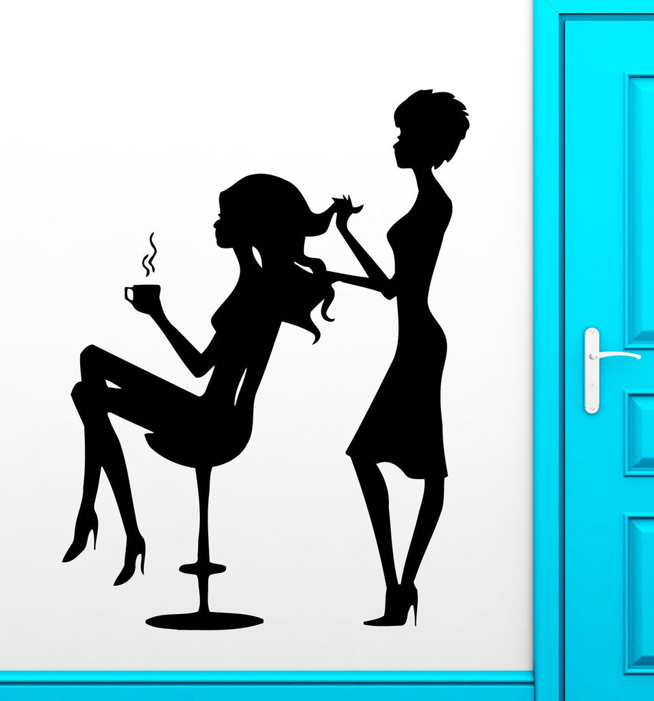 Vinyl Decal Beauty Salon Hair Salon Spa Barbershop Wall Sticker Unique Gift (ig1127)