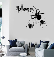 Wall Stickers Vinyl Decal Spider Halloween Horror Mystery Unique Gift ig1647