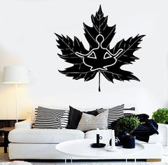 Wall Stickers Vinyl Decal Zen Meditation Nature Nirvana Tree (ig1729)