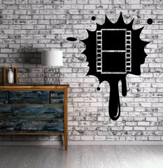 Movie Cinema Room Film Cinemaddict Wall Sticker Vinyl Decal Unique Gift (ig2086)