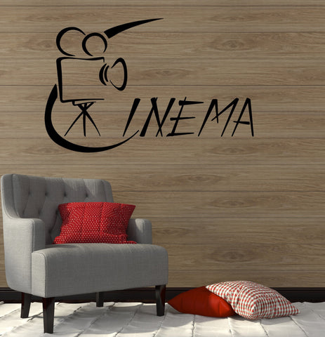 Cinema Films Movie Theatre  Art Wall Stickers Vinyl Decal (ig2115)