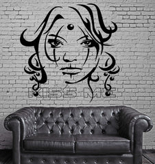 Sexy Girl Vinyl Decal Kiss Me Beauty Women Tattoo Decor Wall Stickers (ig2312)