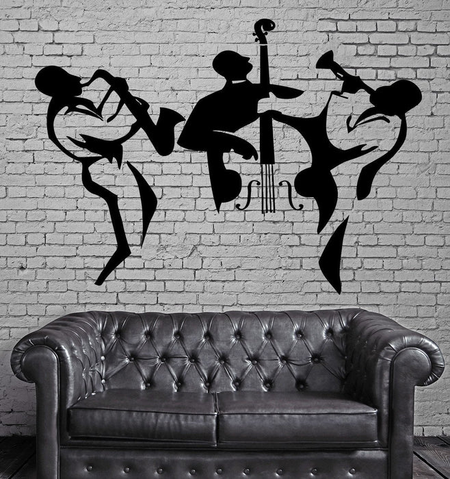 Music Vinyl Decal Classical Orchestra Cello Instruments Wall Stickers Unique Gift (ig2319)