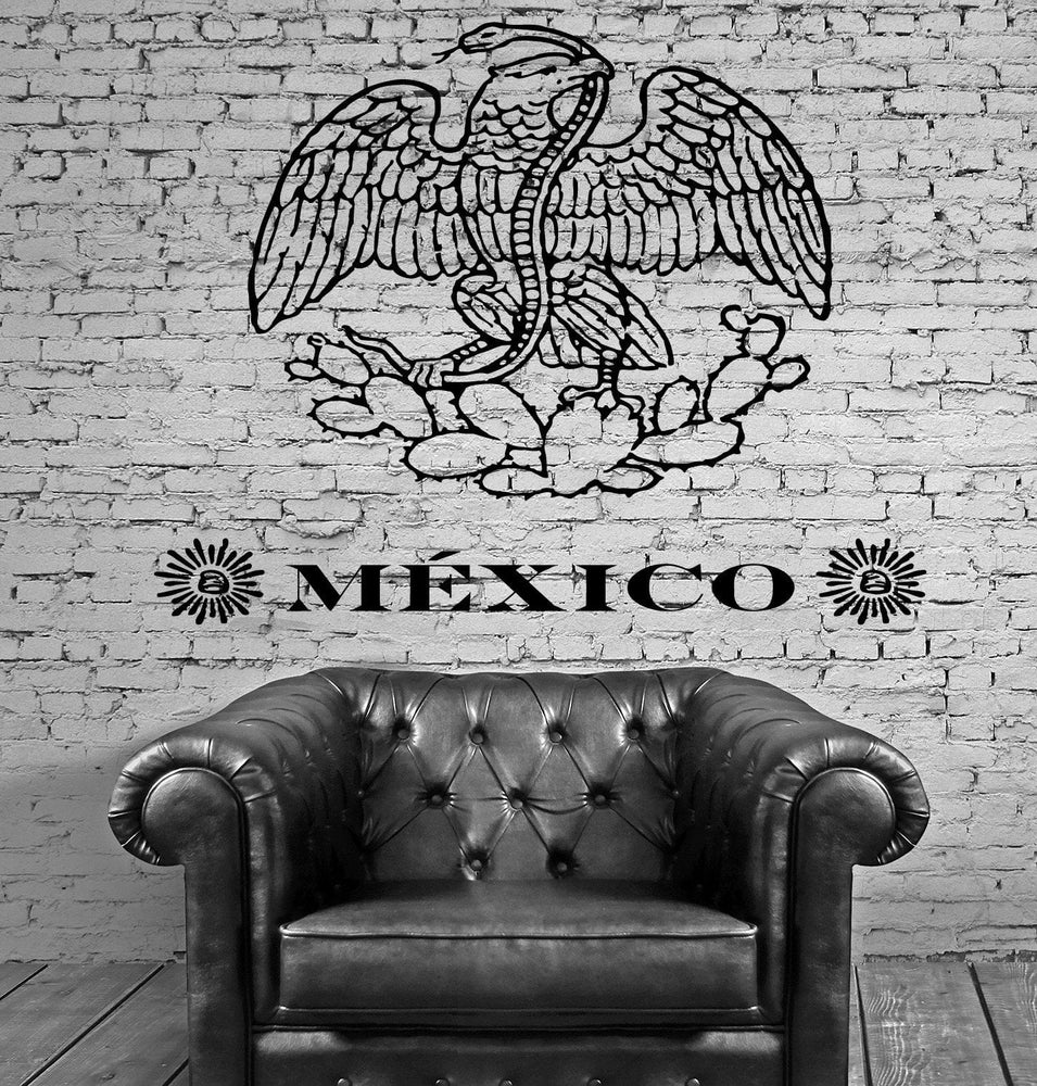 Mexico Wall Stickers North America Latin Vinyl Decal Unique Gift (ig2394)