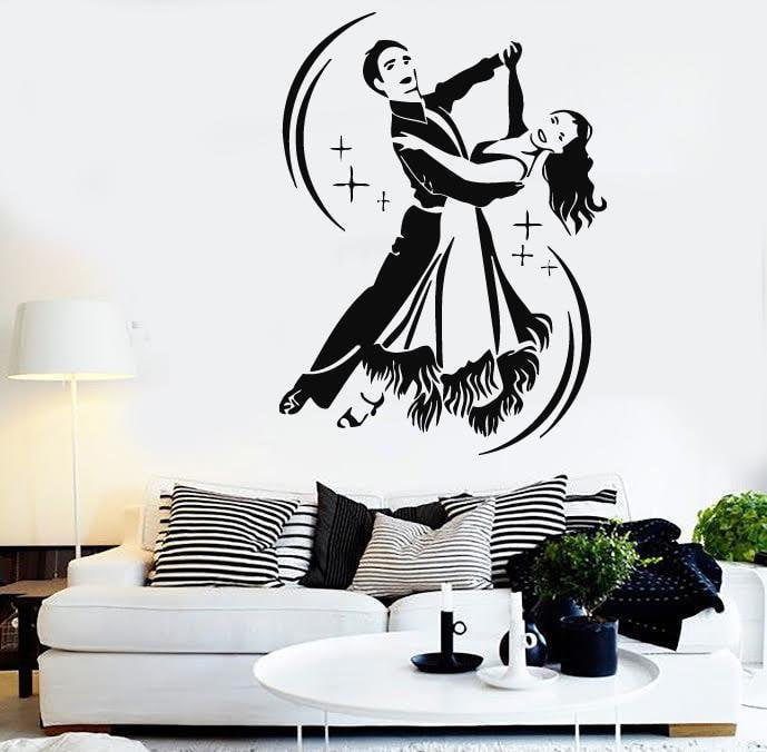 Wall Stickers Wedding Waltz Dance Coolest Design Vinyl Decal Unique Gift (ig538)
