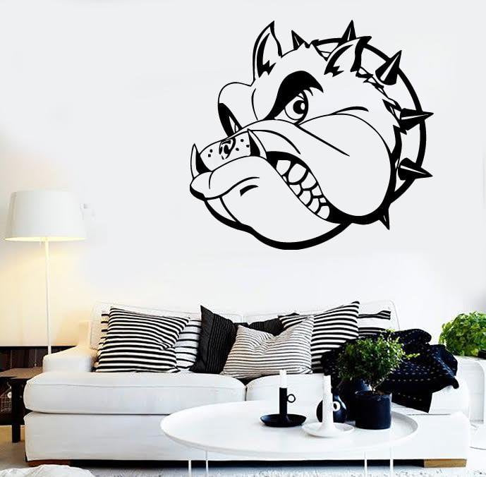 Wall Stickers Wicked Dog Pet Animal Collar Great Design Vinyl Decal Unique Gift (ig539)