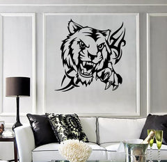 Wall Stickers Vinyl Decal Tiger Predator Animal Tribal (ig558)