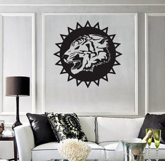 Wall Stickers Vinyl Decal Tiger Bars Predator Animal Tribal (ig868)