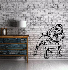 Dog Wall Stickers Puppy Animal Funny Kids Children Vinyl Decal Unique Gift (ig947)