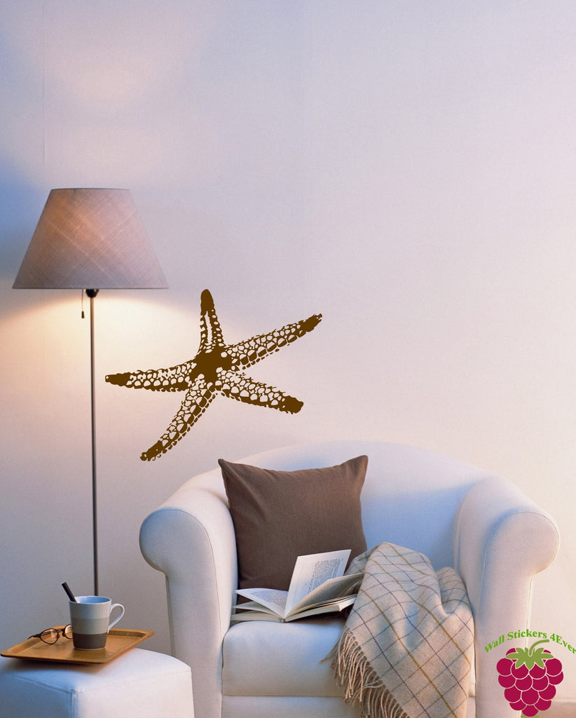 Wall Vinyl Decal Sea Star Fish Marine Ocean Beach House