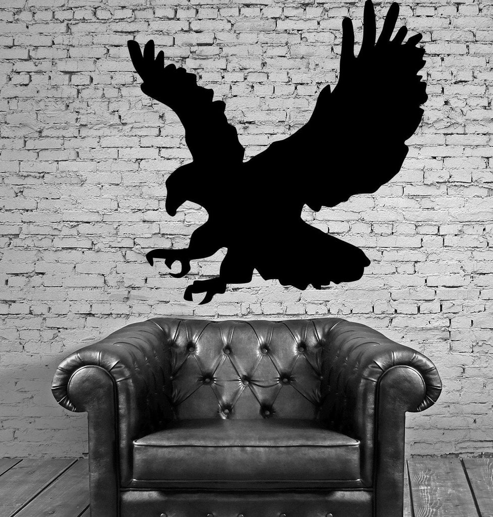 FLYING EAGLE WINGS Wall MURAL Vinyl Art Sticker M117