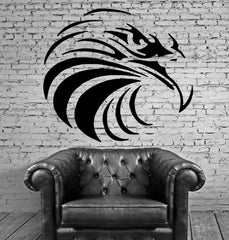 EAGLE HEAD American Symbol Air Hunter DECOR Wall MURAL Vinyl Art Sticker M134