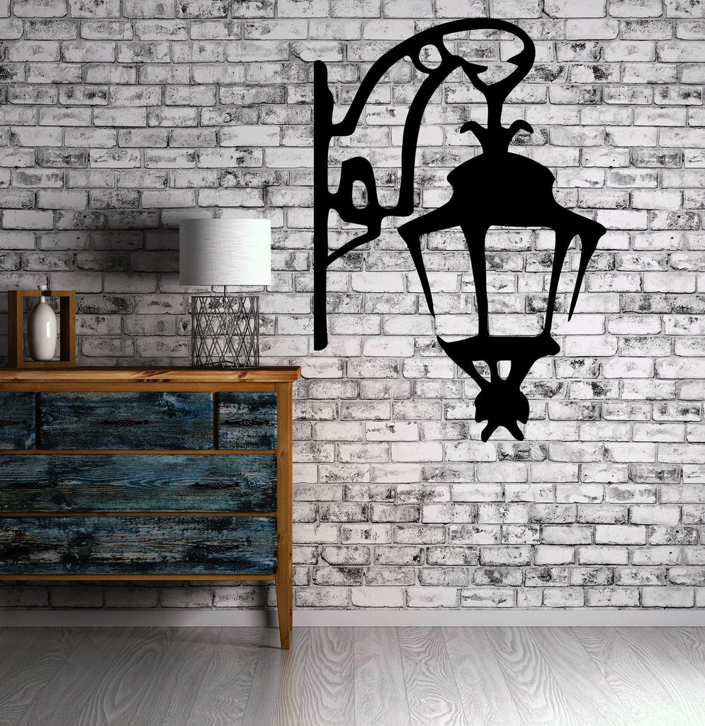 Vinyl decal wall sticker antique lantern street lamp symbol of vinyl decal wall sticker antique lantern street lamp symbol of light modern home decor unique gift amipublicfo Image collections