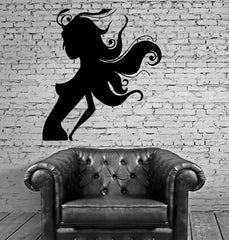 Beautiful Naked Woman Silhouette Sexy Decor Wall Mural Vinyl Art Sticker M320