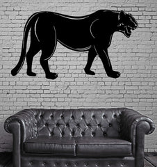 Pantera Asian Woods Hunter Animal Decor Wall MURAL Vinyl Art Sticker Unique Gift M336