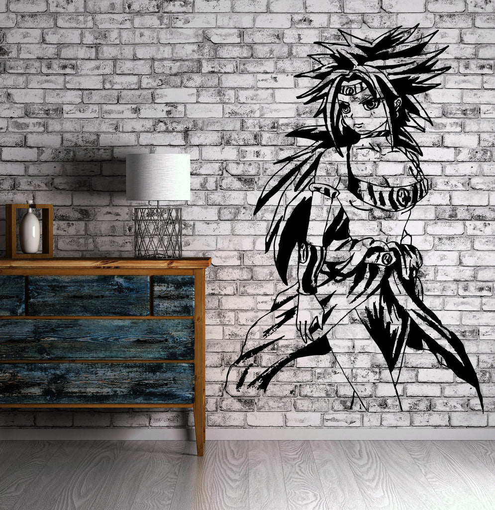 Dragon Ball Z Cartoon Anime Manga Decor Wall Mural Vinyl Art Sticker M436