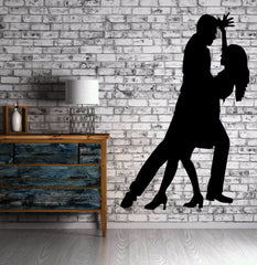 Ballroom Dancing Romance Passion Decor Wall Mural Vinyl Art Decal Sticker (m478)