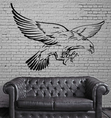 Flying Eagle Wings American Symbol Decor Wall Mural Vinyl Art Decal Sticker M481