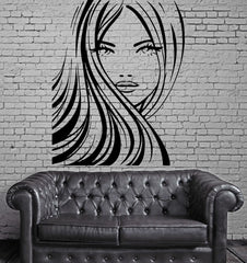 Beautiful Sexy Woman Full Lips Decor Wall Mural Vinyl Art Decal Sticker M482
