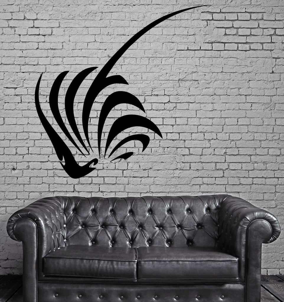 Sting Ray Silhouette Ocean Marine Sea Decor Wall Mural Vinyl Decal Sticker Unique Gift M495