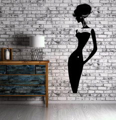 Beautiful Sexy Woman Classy Fashion Model Wall Decor Mural Vinyl Decal Art M552