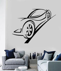 Vinyl Decal Wall Sticker Car Racing Speed Track Trace Auto Service Decor Unique Gift (M613)