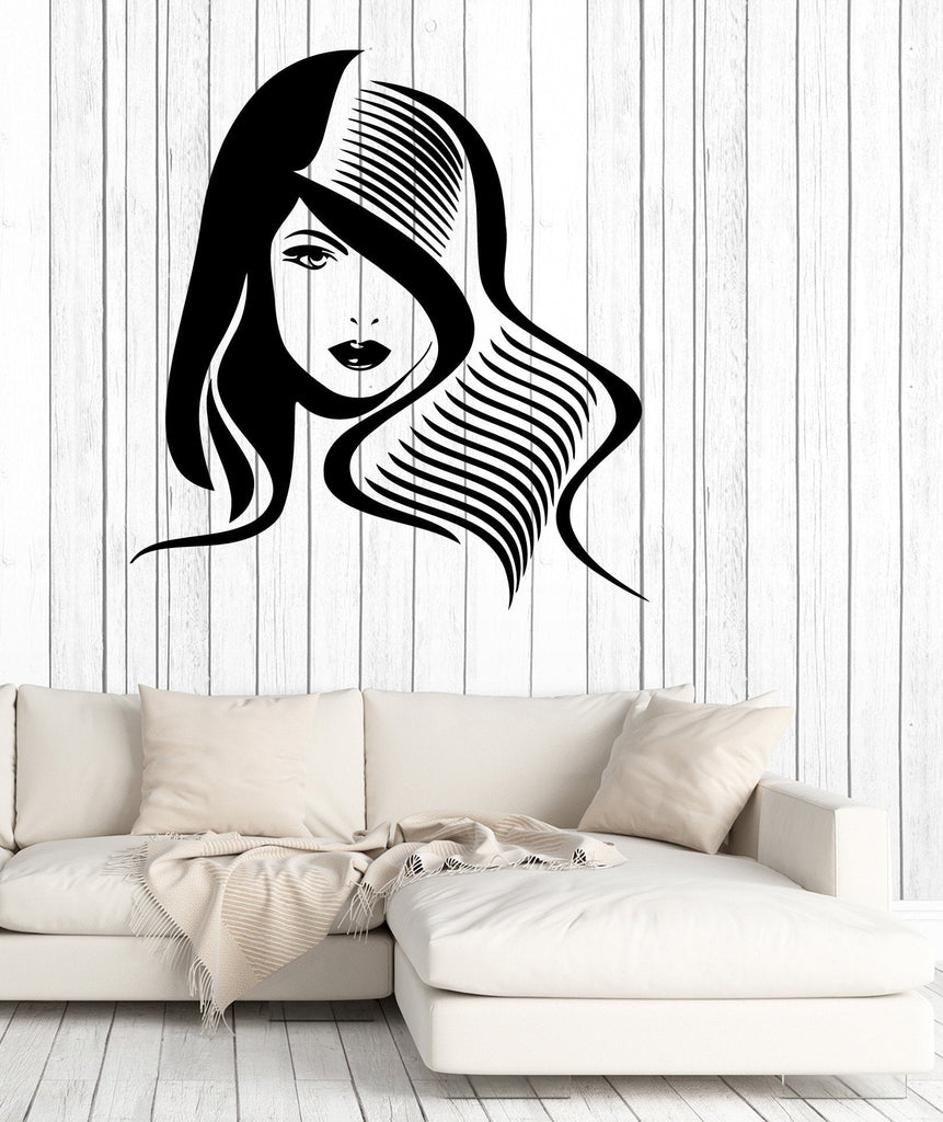 Vinyl Decal Wall Sticker Sexy Beautiful Girl Women Decor Unique Gift (M631)