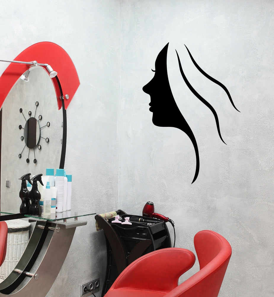 Vinyl Decal Wall Sticker Silhouette Sexy Girls Beauty Salon Decor Unique Gift (M636)