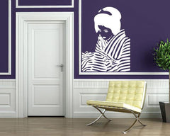 Vinyl Decal Beautiful Woman Portrait Wall Sticker Japanese Girl love And Beauty Geisha Unique Gift (n003)