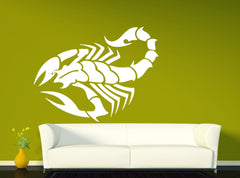 Vinyl Decal Nature Wall Sticker Sting Scorpio Animals Spider Venom Arachnology Unique Gift (n007)