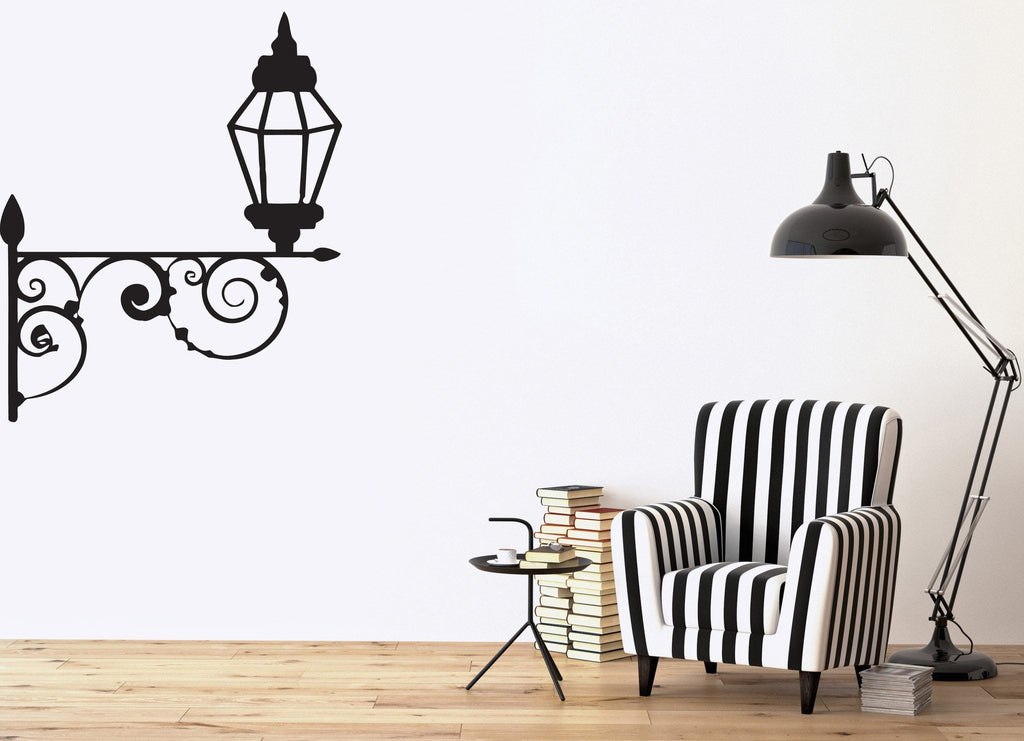 Vinyl decal abstract decorative wall stickers lantern beautiful mural grate unique gift n365