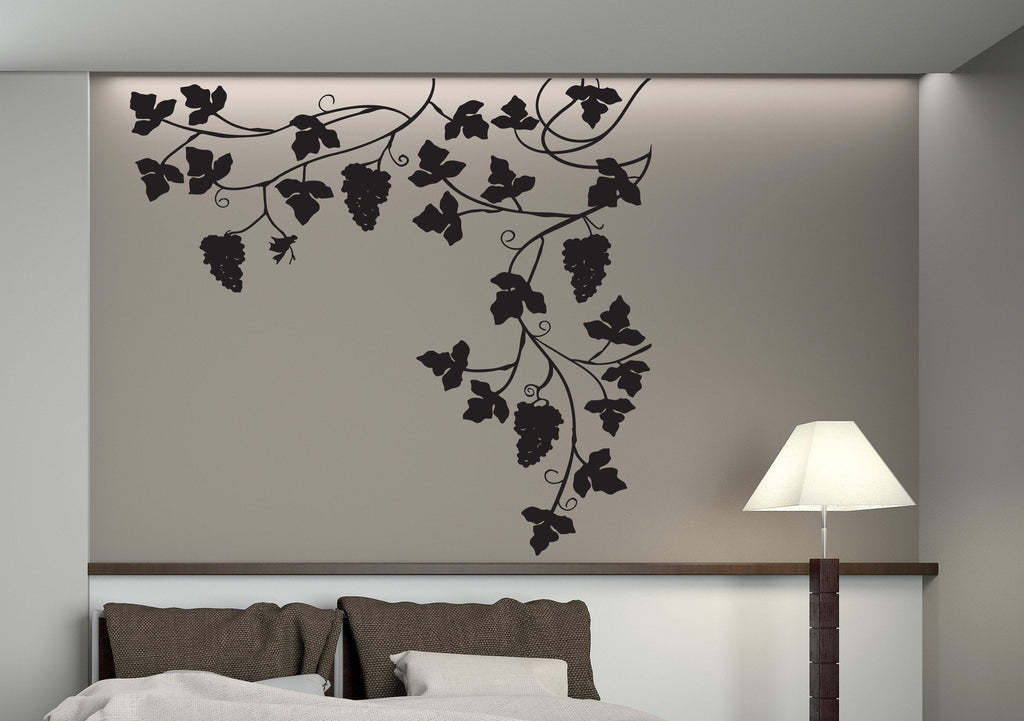 Vinyl Decal Nature Decor Wall Stickers Branches Of The Vine - Wall decals nature