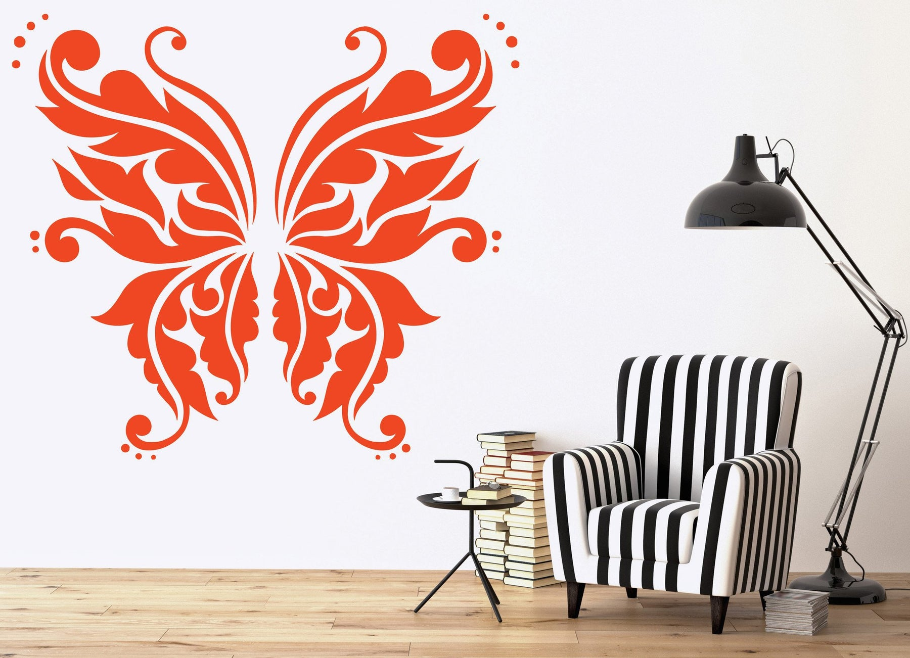 Wall Sticker Vinyl Decal Most Beautiful Butterfly Fairy Wings Mural