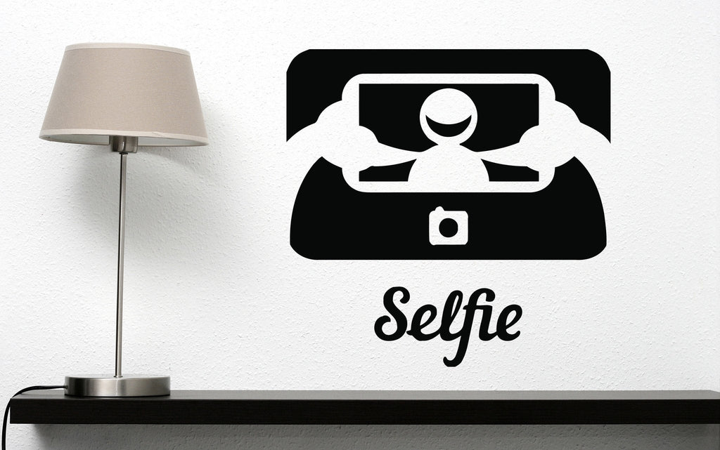Vinyl Decal Gadgets World Wall Stickers Funny Picture Photo Icon Selfie Decor Unique Gift (n433)