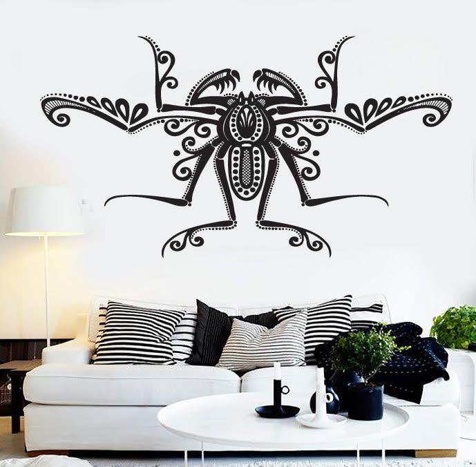 Large Vinyl Decal Wall Sticker Decorative Image Insect Beautiful Spider Web (n491)