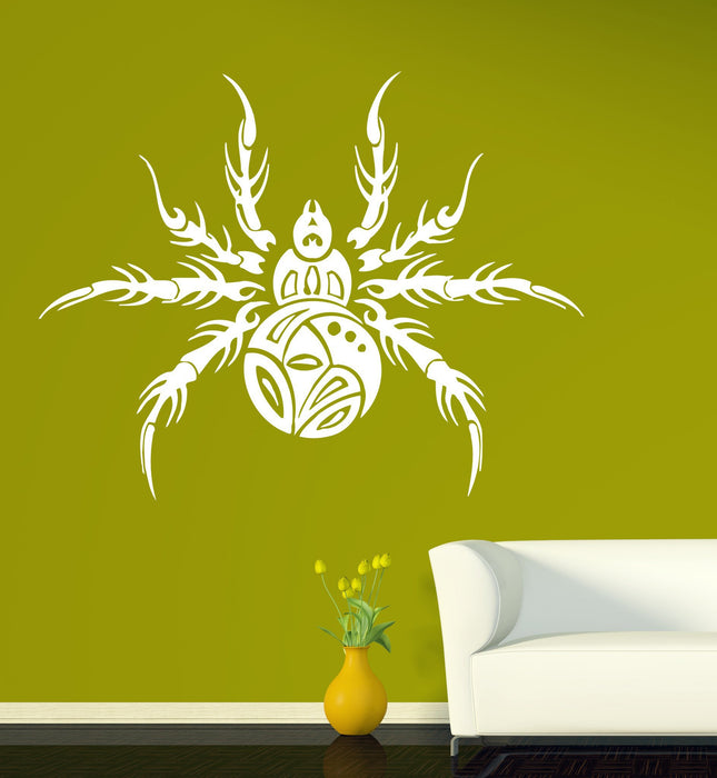 Large Wall Vinyl Sticker Decal Spider gorgeous representative predator insect Unique Gift (n519)