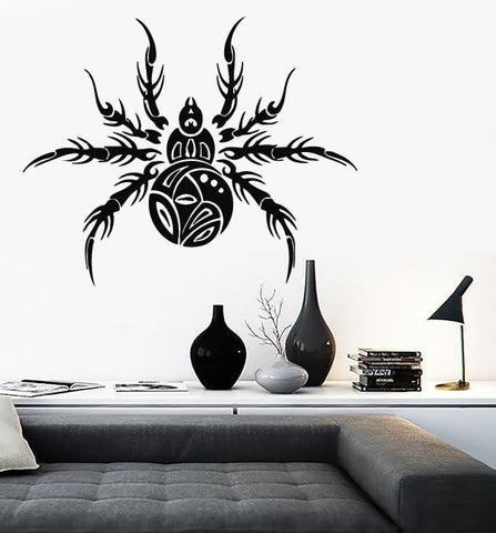 Large Wall Vinyl Sticker Decal Spider gorgeous representative predator insect (n519)